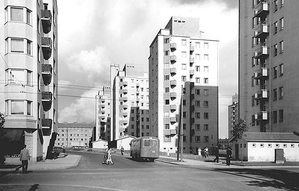 (Kuva: Kaleva 50-luvulla / uta.fi)