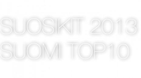 Kovimmat kotimaiset 2013: kappaleet