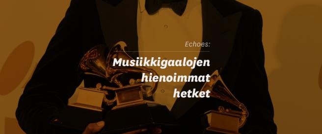 Echoes: Musiikkigaalojen hienoimmat hetket