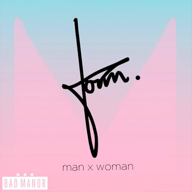 man x woman