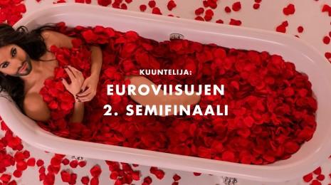 Euroviisut: Semifinaali 2 – Kuuntelijan ja Hulivilipojan tärpit