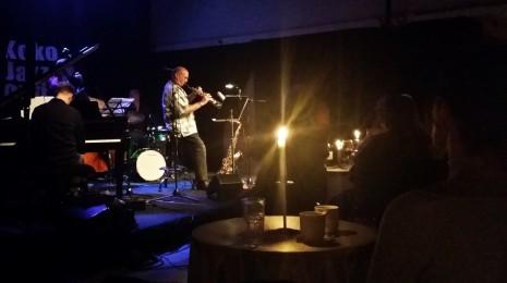 Aki Rissanen // Jussi Lehtonen Quartet with Dave Liebman Koko Jazz Clubilla 16.8.2014