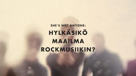 Hylkäsikö maailma rockmusiikin?