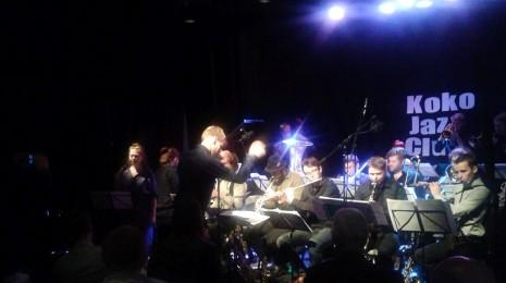 Sointi Jazz Orchestra Koko Jazz Clubin lokakuun jazzbrunssilla