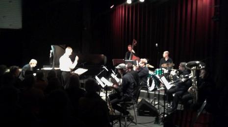 """Kansi Auki 2014 – Sid Hille Contemporary Collective – Jussi Lampela Nonet & Iiro Rantala: Pianokonsertto nr.1 """"Yllättäviä kohtaamisia"""""""