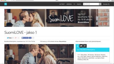 I love SuomiLOVE