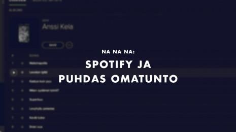 Spotify ja puhdas omatunto