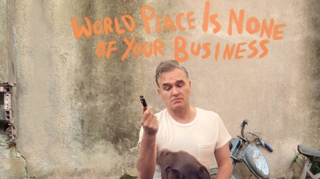 "Morrissey – World Peace Is None of Your Business 2LP, eli ""each time you vote you support the process"""