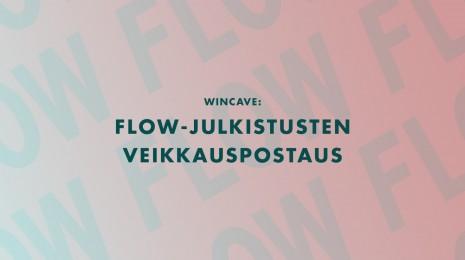 Flow-julkistusten veikkauspostaus