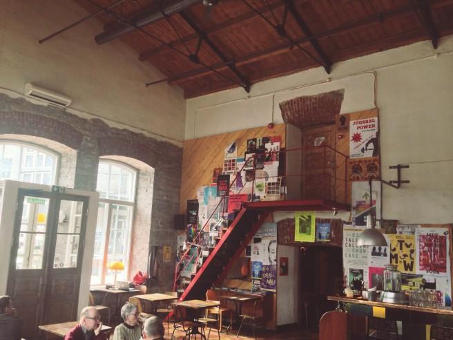 Tallinnan kivoin kahvila, F-hoone