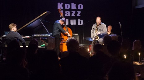 Liberty Ship levyjulkkarit Koko Jazz Clubilla