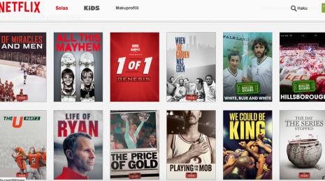 Kuusi suositeltavaa Netflix-dokumenttia