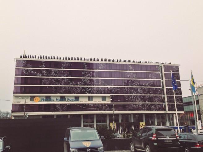 """Nordic Hotel Forum"", eli konferenssihotelli"