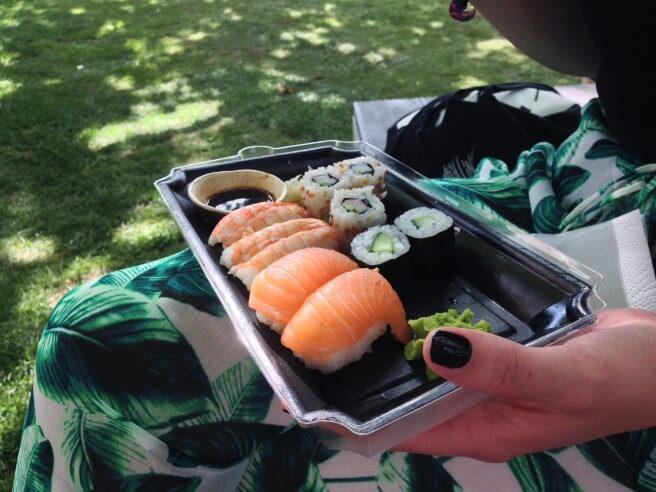 Käpylän Majakan sushi oli naurettavan hyvää