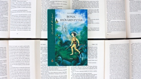 Kirja: Astrid Lindgren – Ronja, ryövärintytär