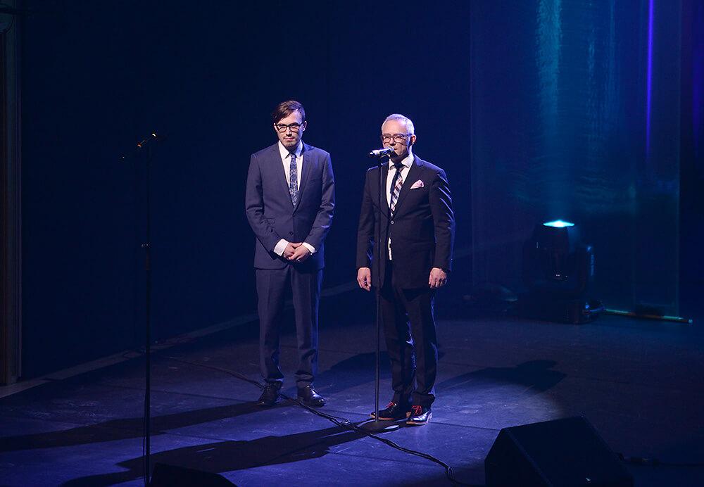 Jazzliiton toiminnanjohtaja Ami Vuorinen ja puheenjohtaja Petteri Klintrup - Photo: Osku Rajala