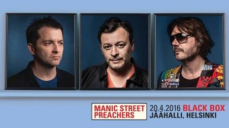 Manic Street Preachers, Helsinki 20.4.2016