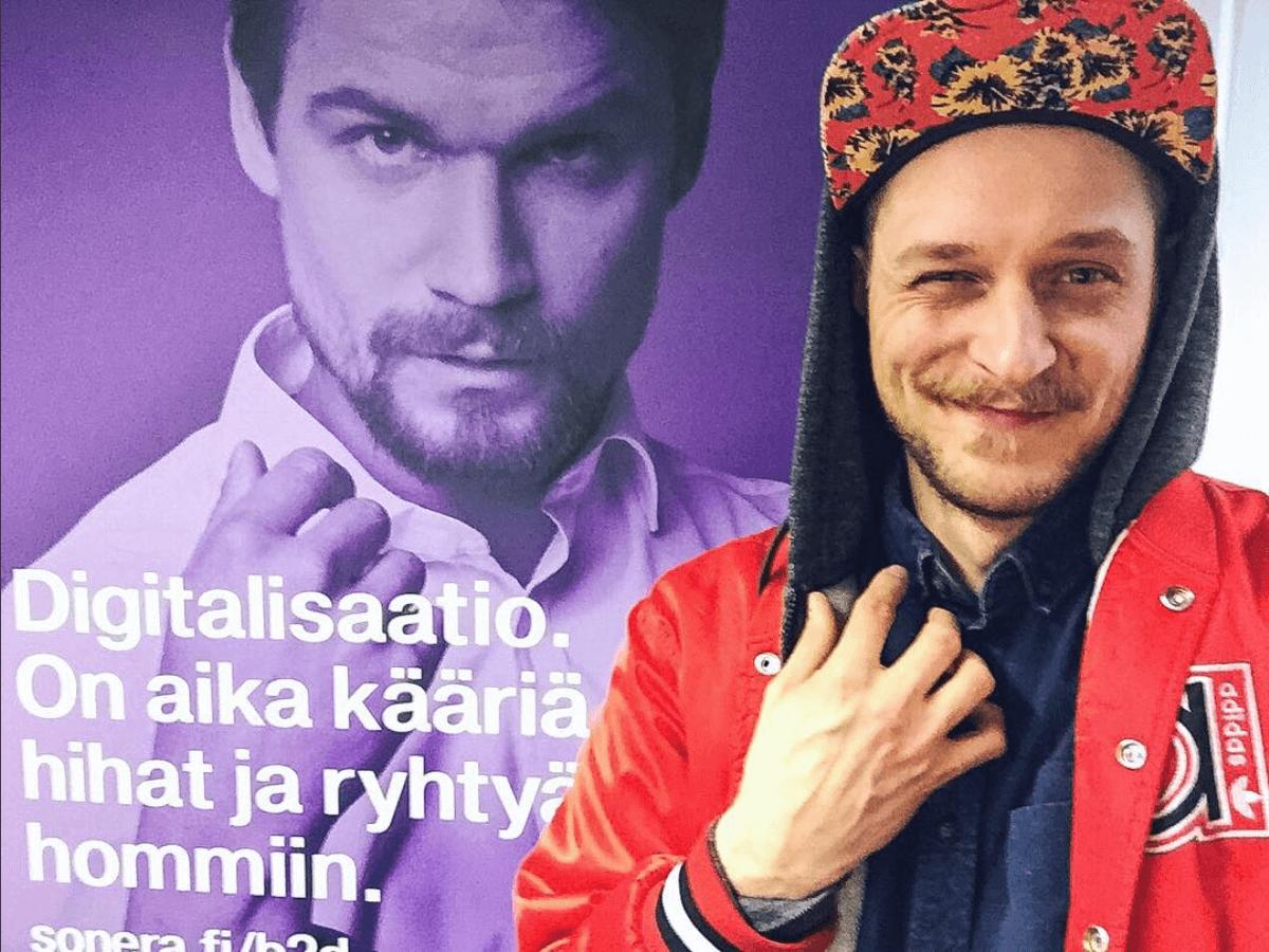 Kalenterikarju Soneran ja PING Helsingin tilaisuudessa