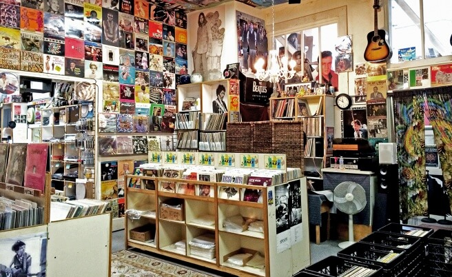 Record Store in California