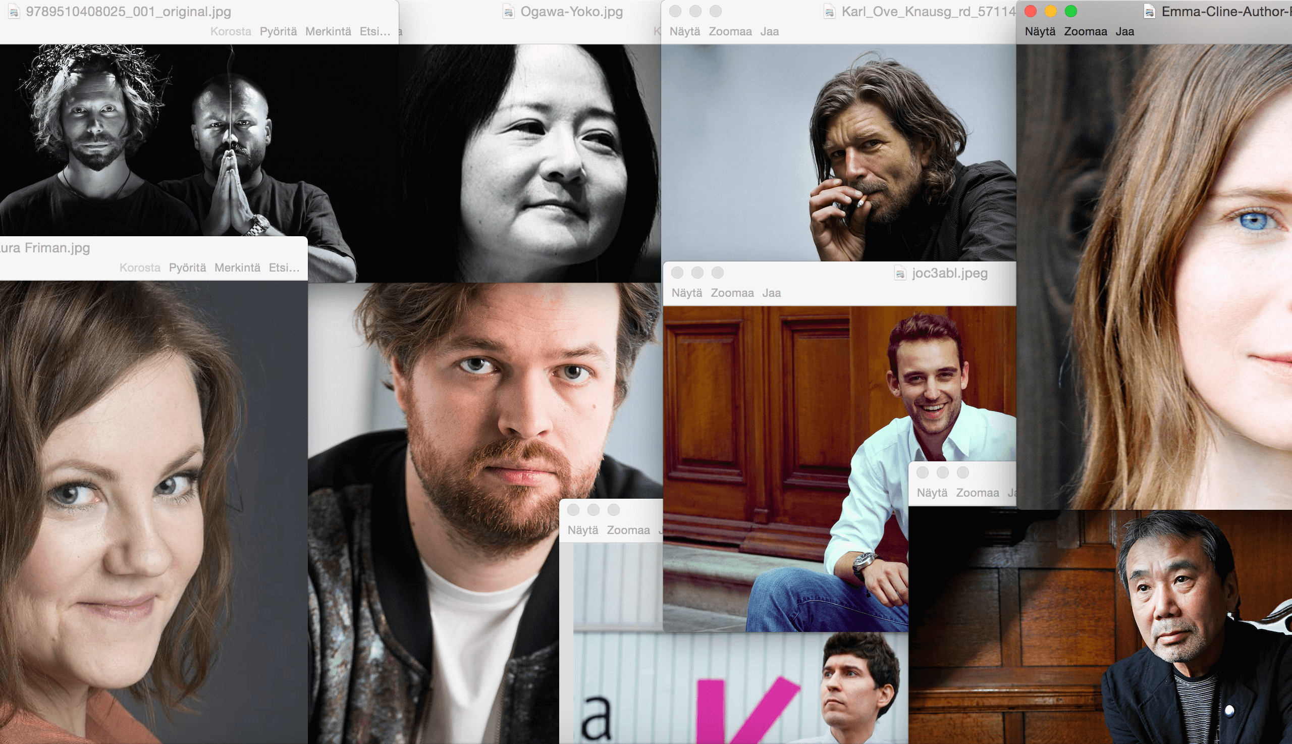 Syksyn 2016 kiinnostavimmat kirjailijat