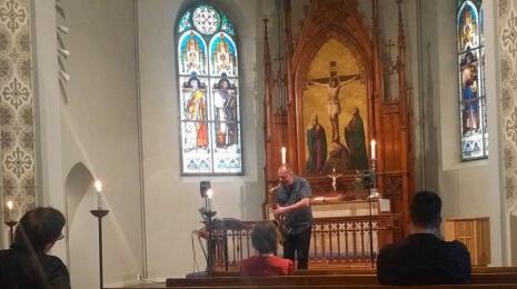 Esa Pietilä Times & Spaces julkkarikonsertti Saksalaisessa kirkossa
