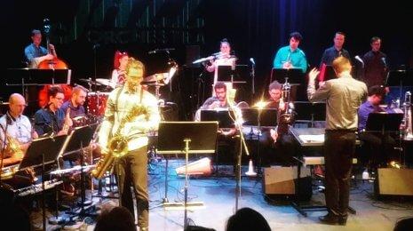 Sointi Jazz Orchestran kiertue käynnistyi Malmitalolta somehäröilyn siivittämänä