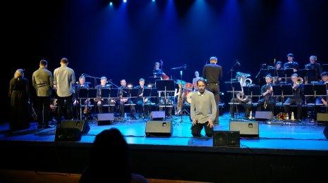 Sointi Jazz Orchestran Tiernapojat päätti kiertueensa Sellosaliin