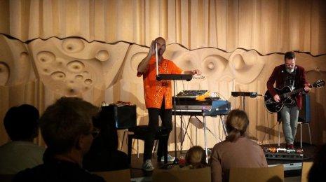 Sid Hille & Jarmo Saari juhlistivat Espoo-päivää EMMAssa