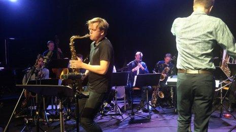 Sointi Jazz Orchestra & Marius Neset Koko Jazz Clubilla