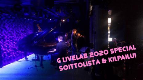 Jazzpossun joulukuun 2019 soittolista & kilpailu – G Livelabin 2020 pursuaa huippujazzia