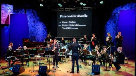 Sointi Jazz Orchestran Maailmanlopun konsertti sai toisen esityksensä Vuotalossa