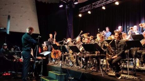 Toisessa Sointi Jazz Orchertra klubi-illassa Kapsäkissä kapinoitiin