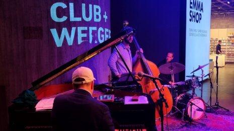 Markus Niittynen Weegeessä April Jazz Clubissa